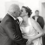 Hochzeitsfotografie Erster Kuss
